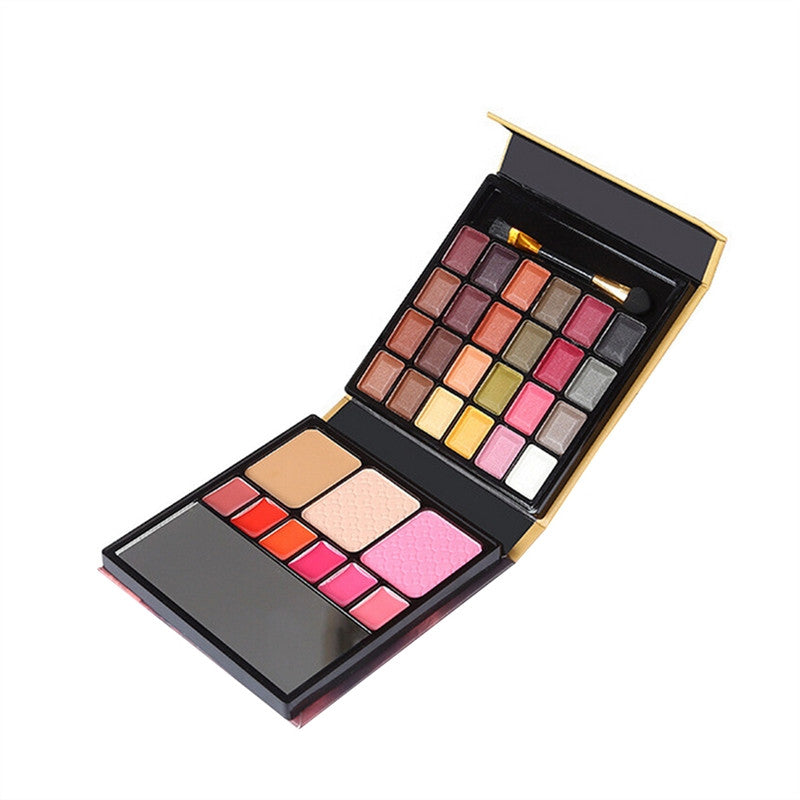 24 Colors Eyeshadow Palette Makeup Contouring Kit for Salon and Daily Use