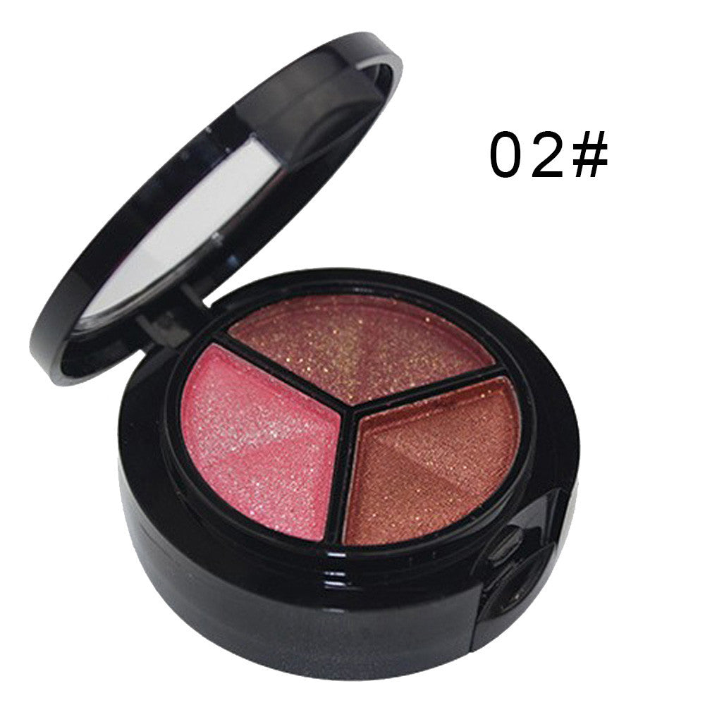 Smoky Cosmetic Set 3 colors Professional Natural Matte Makeup Eye Shadow