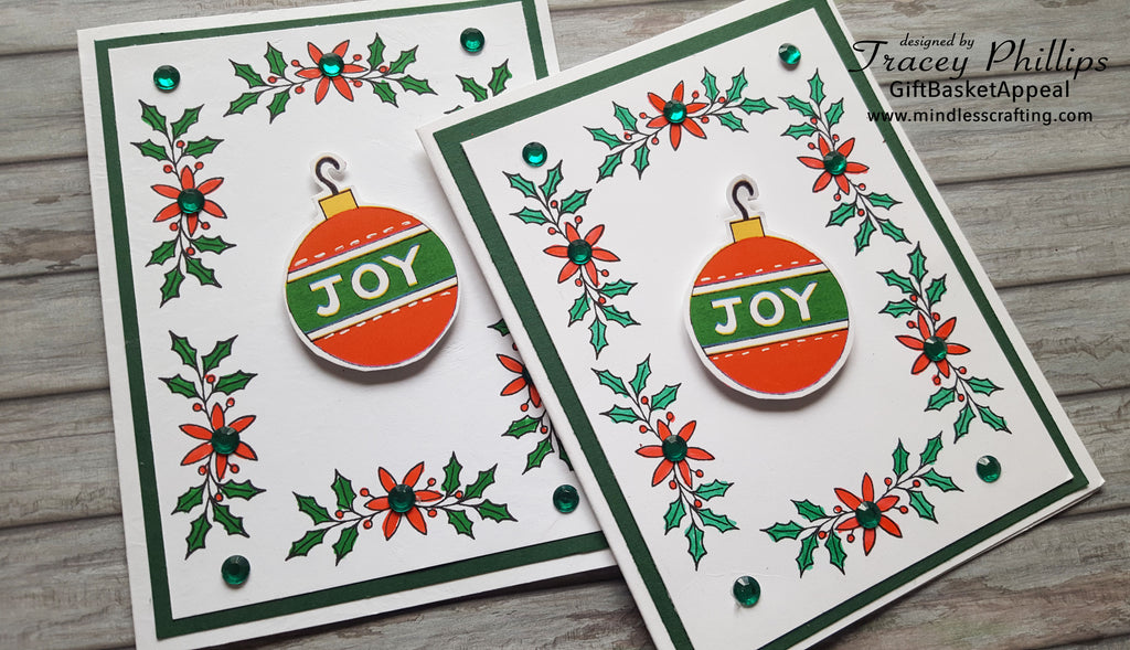 JOY Christmas Card | Season's Greetings Card Kit