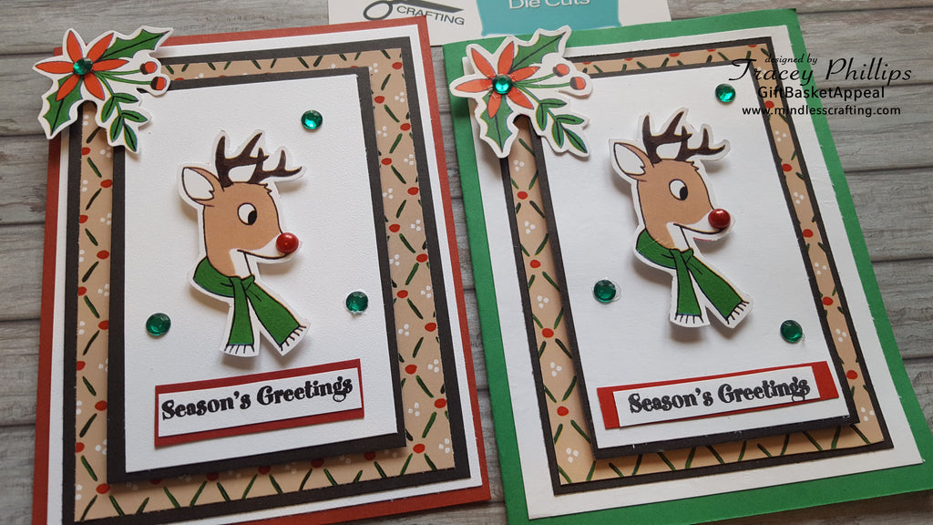 Reindeer Card | Season's Greetings Card Kit