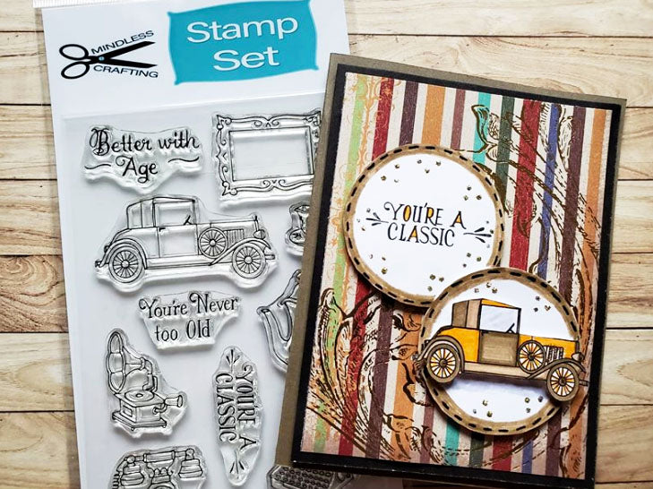 Never Too Old Stamp Set