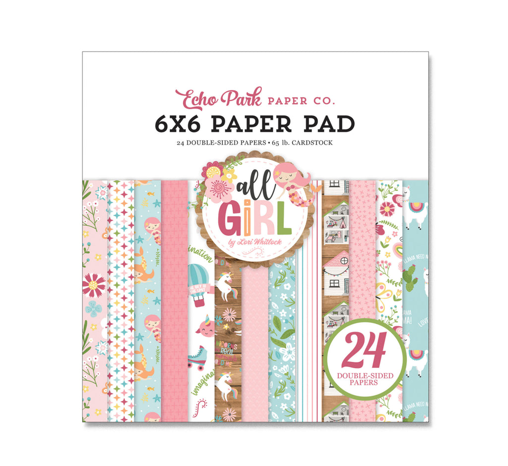 ALL GIRL 6x6 Paper Pad