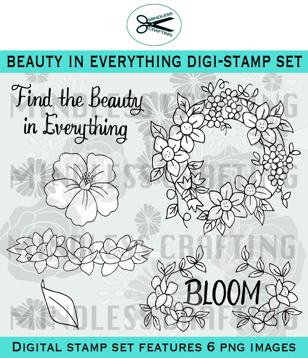 Beauty In Everything Digi Stamp Set