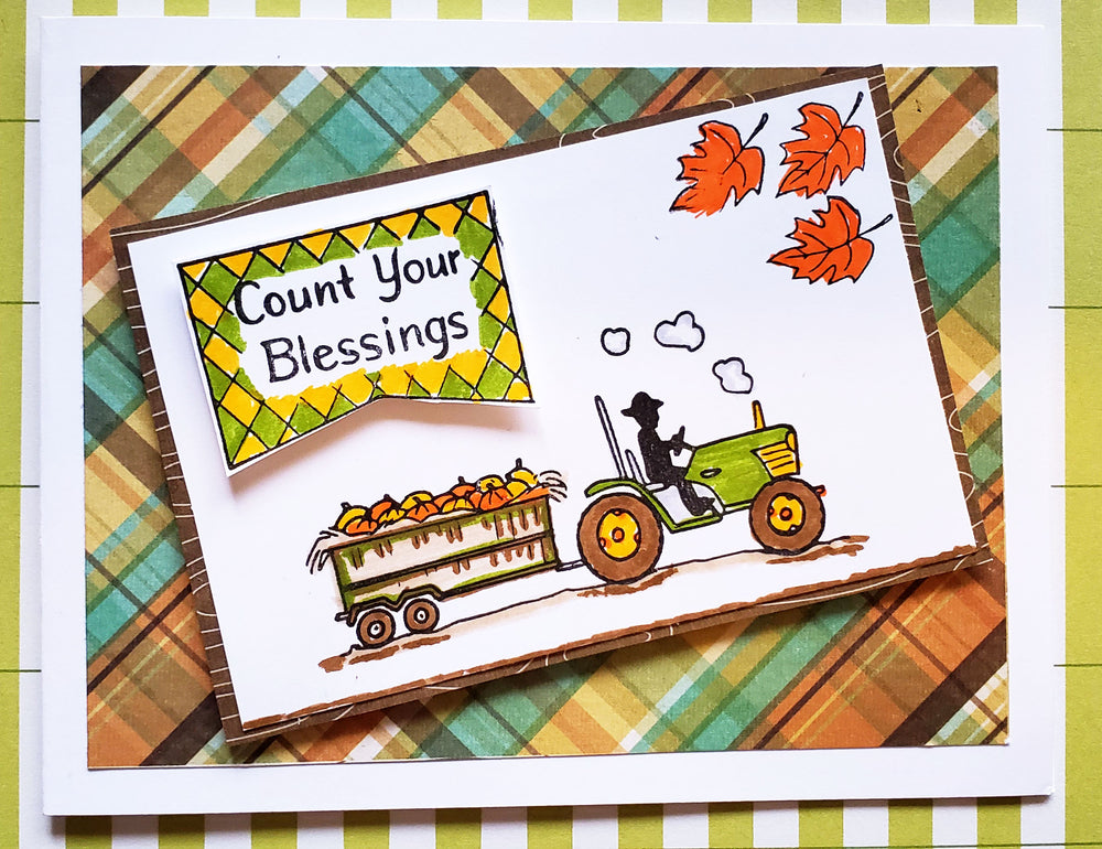 Count Your Blessings Stamp Set