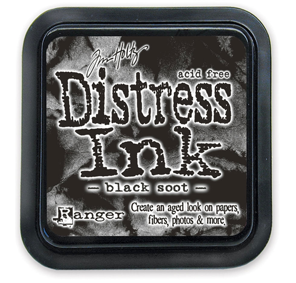 Tim Holtz Ranger Distress Ink - BLACK SOOT