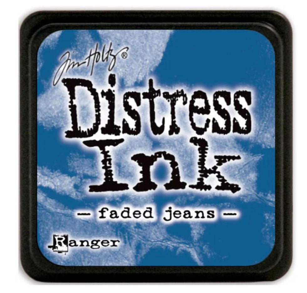 Tim Holtz Ranger Distress Ink - FADED JEANS