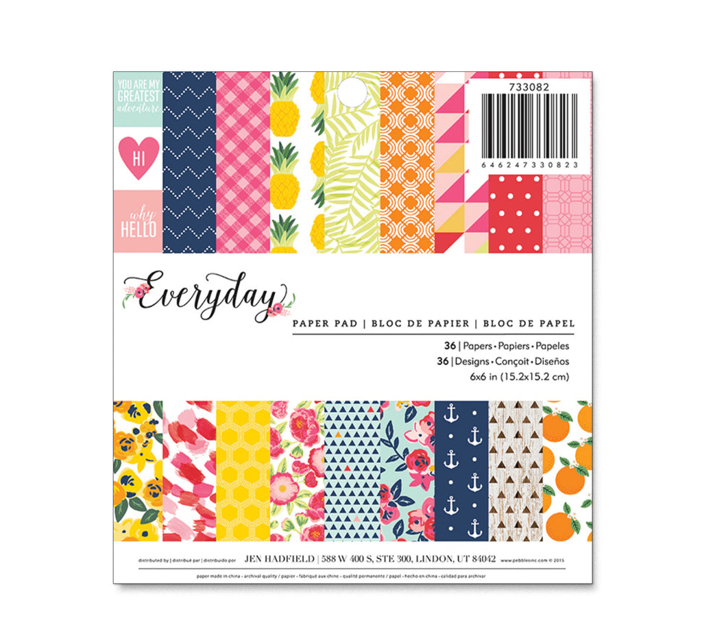 Jen Hadfield EVERYDAY 6x6 Paper Pad