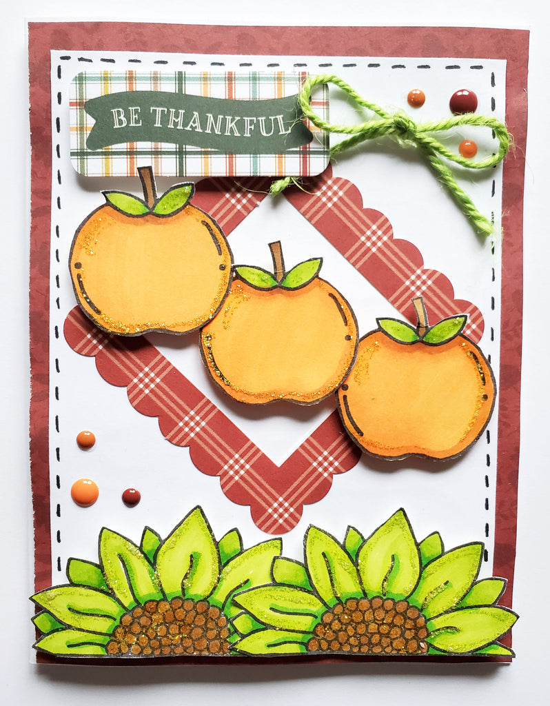 Be-Leaf Stamp Set 6x8