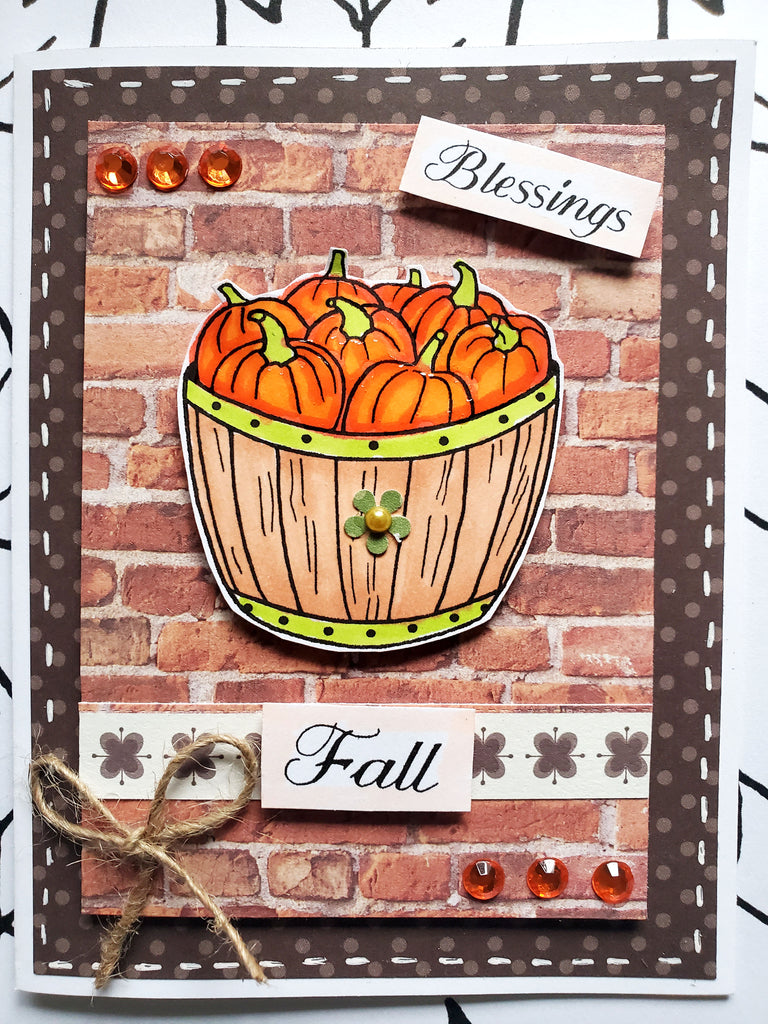 Harvest Blessings Digi Stamp Set