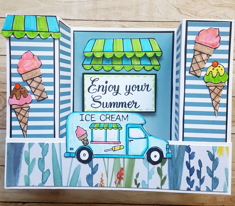 Summer Fun 1 Stamp Set