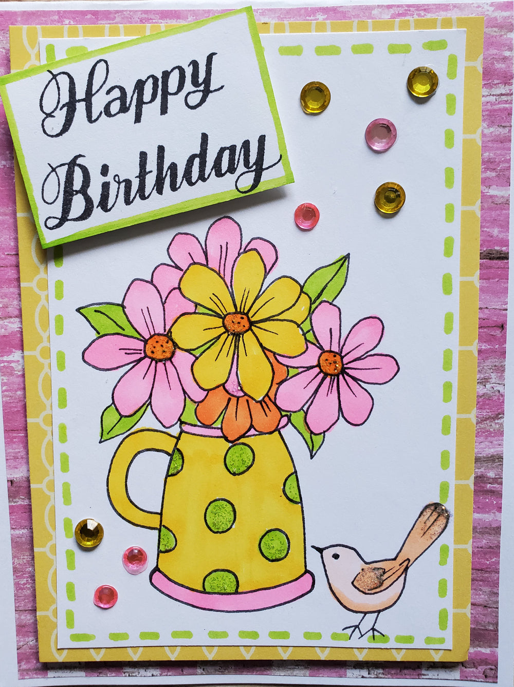Happy Place Digi Stamp Set