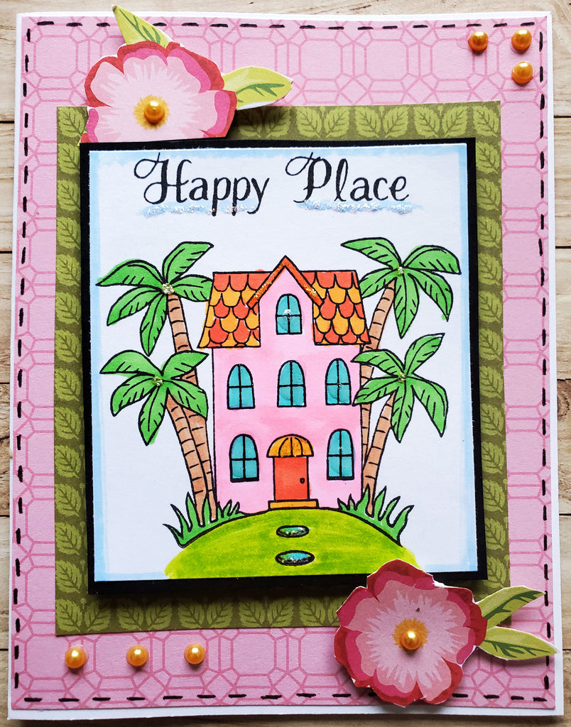 Happy Place Stamp Set 6x8
