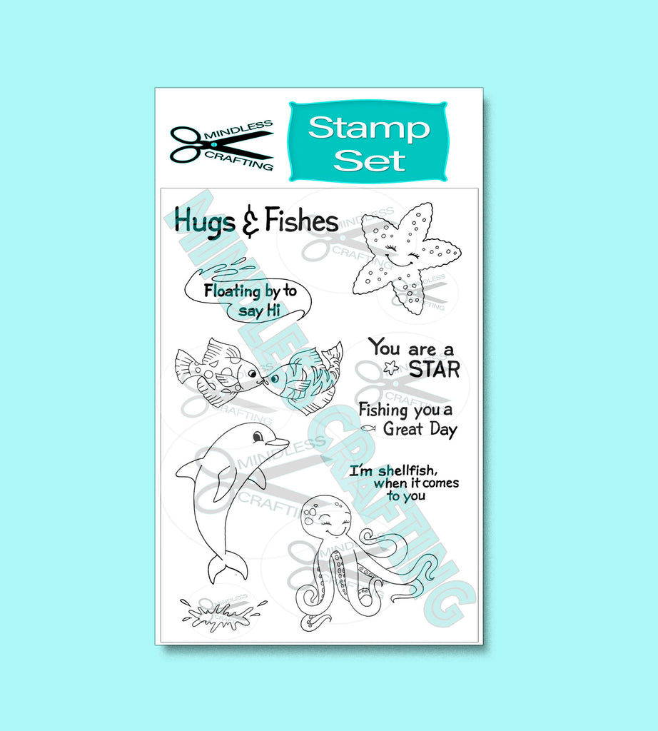 Hugs and Fishes Stamp Set