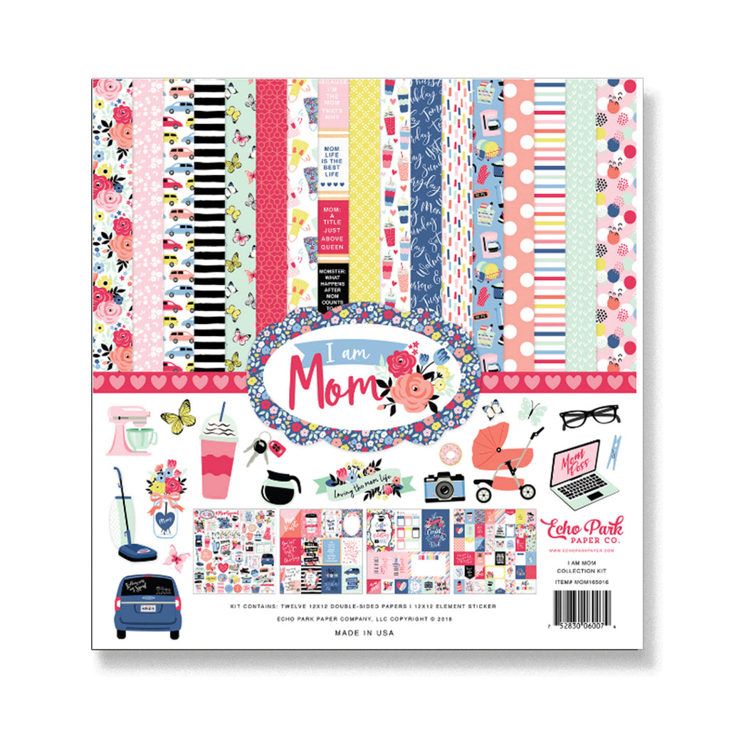 Echo Park I Am Mom Collection Kit