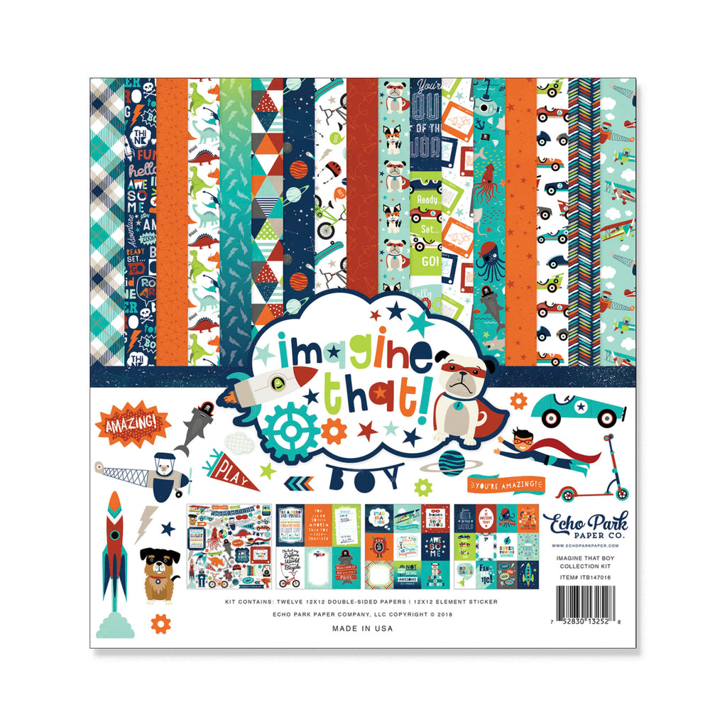 IMAGINE THAT BOY 12 x 12 COLLECTION KIT
