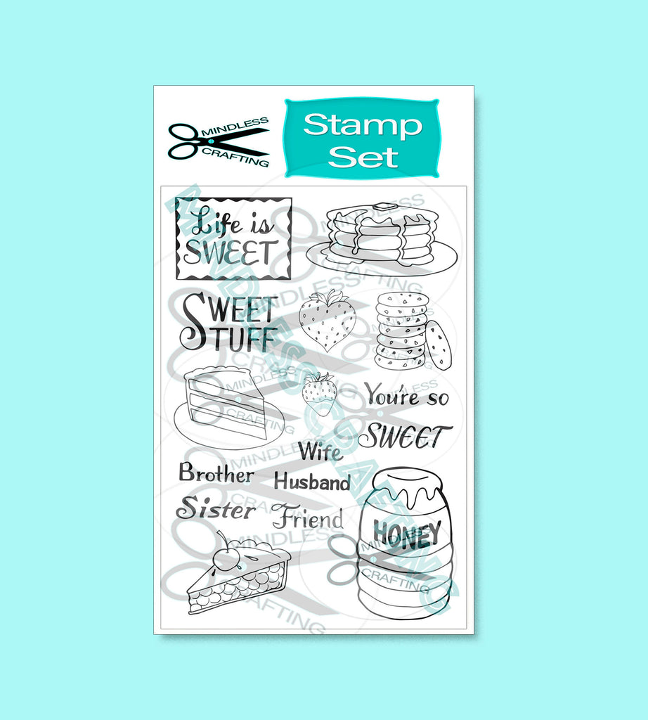 Life is Sweet Stamp Set