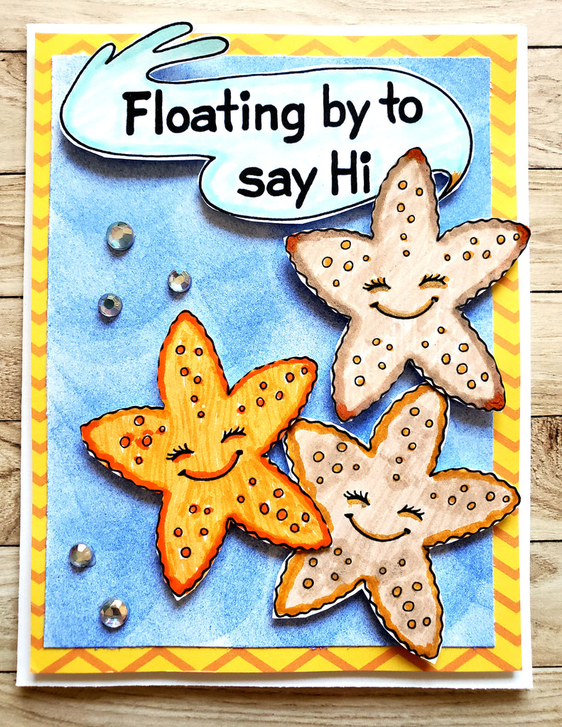 Hugs & Fishes Digital Stamp Set