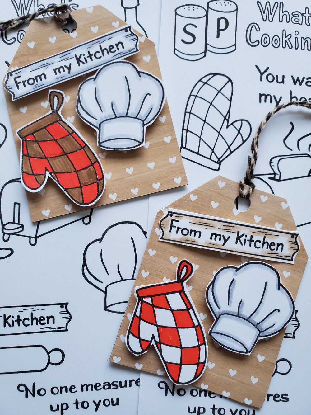 From My Kitchen Stamp Set