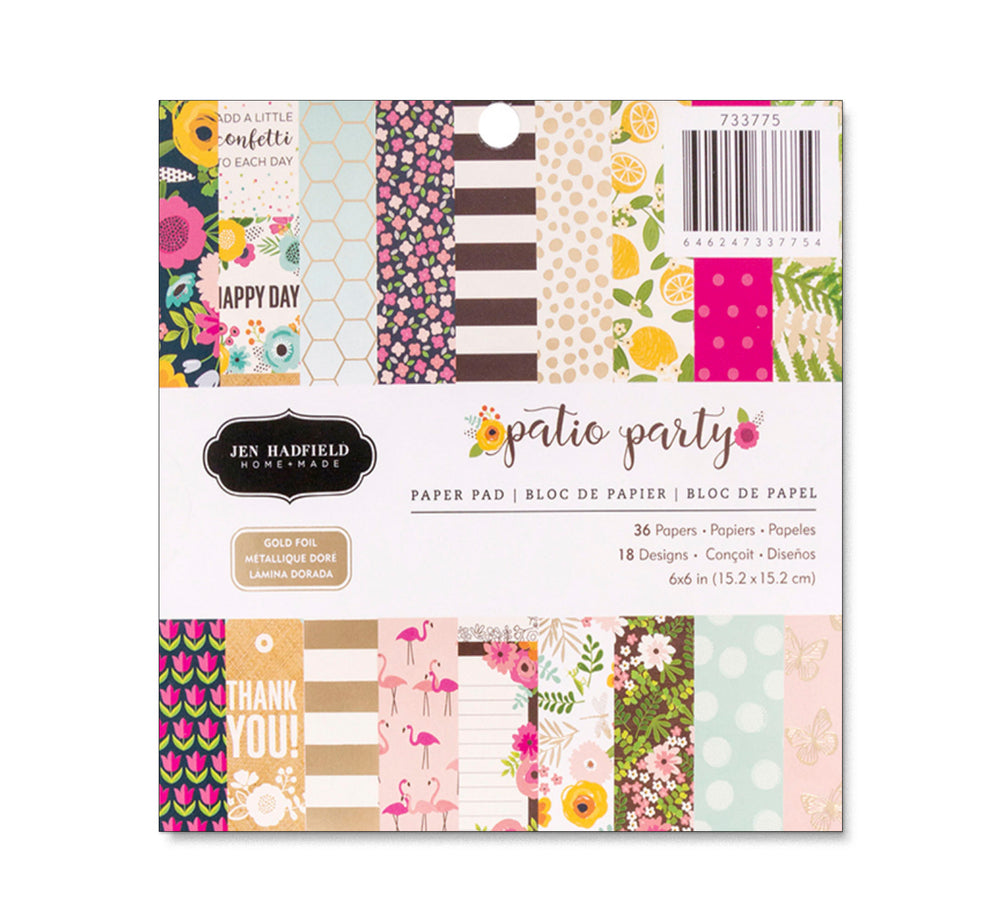 Jen Hadfield PATIO PARTY 6x6 Paper Pad