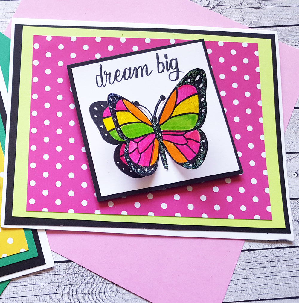 Spread Your Wings Butterfly Stamp Set