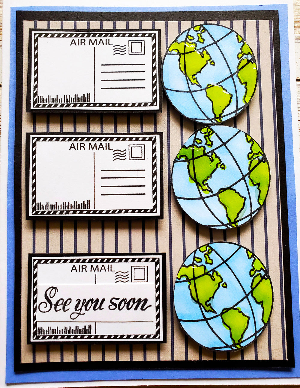 Safe Travels Stamp Set
