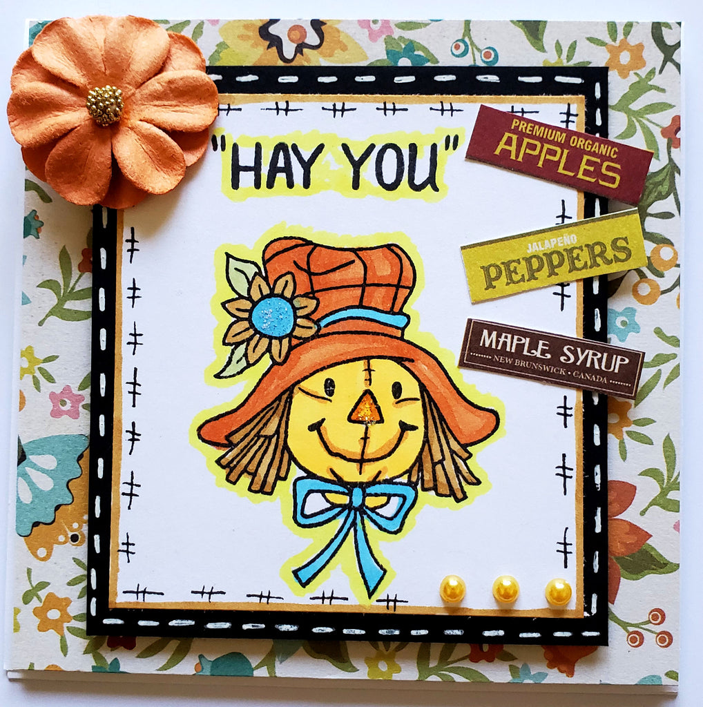 Scarecrow Stamp Set 6 x 8