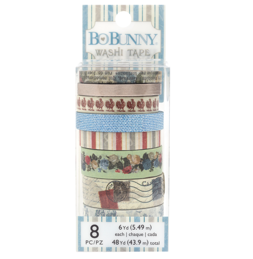 Washi Tape - BOULEVARD 8PC