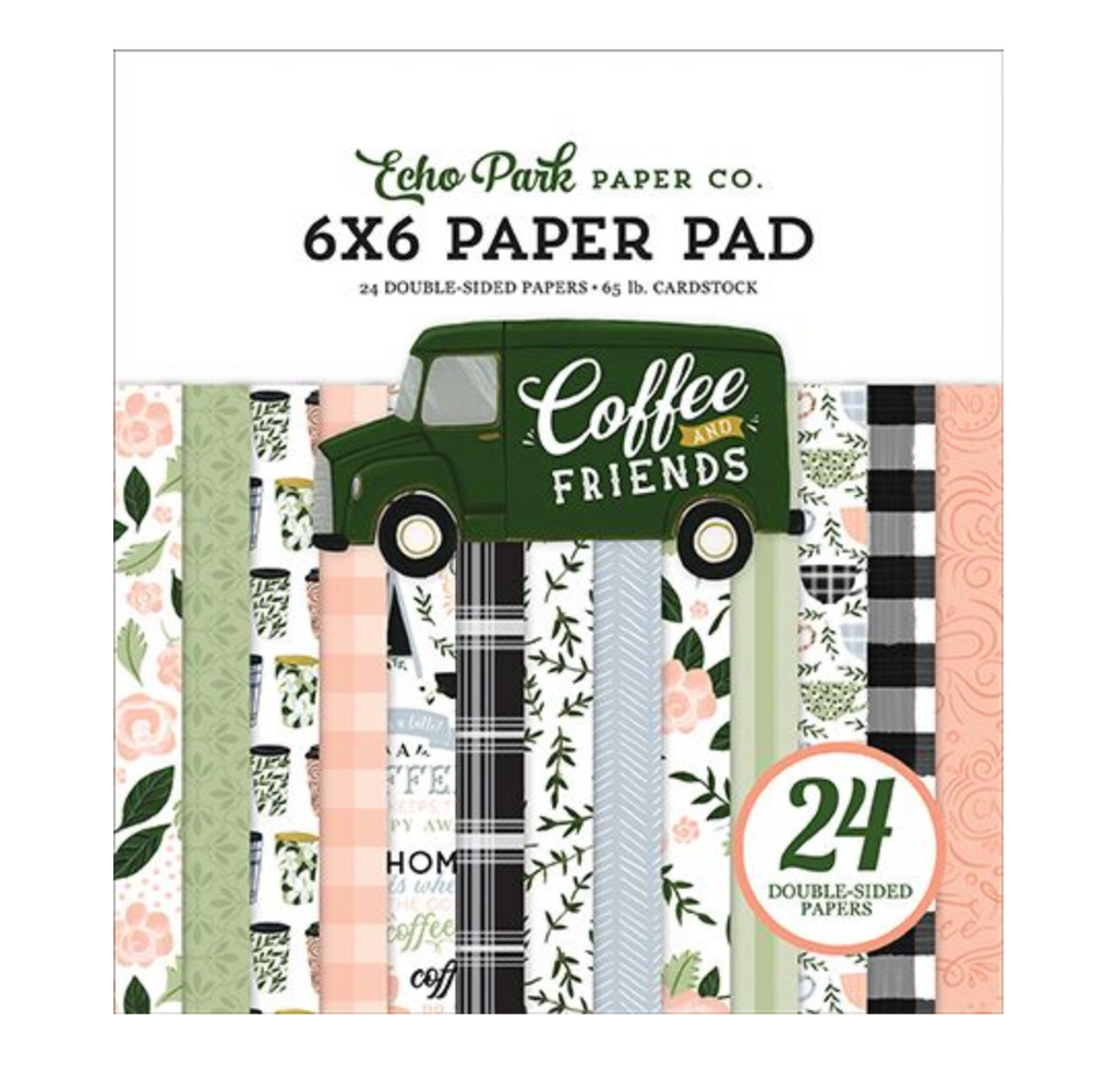 Coffee & Friends 6x6 Paper Pad
