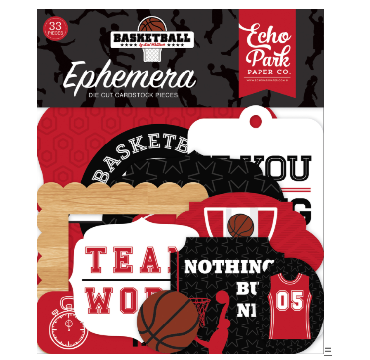 Echo Park BASKETBALL Ephemera