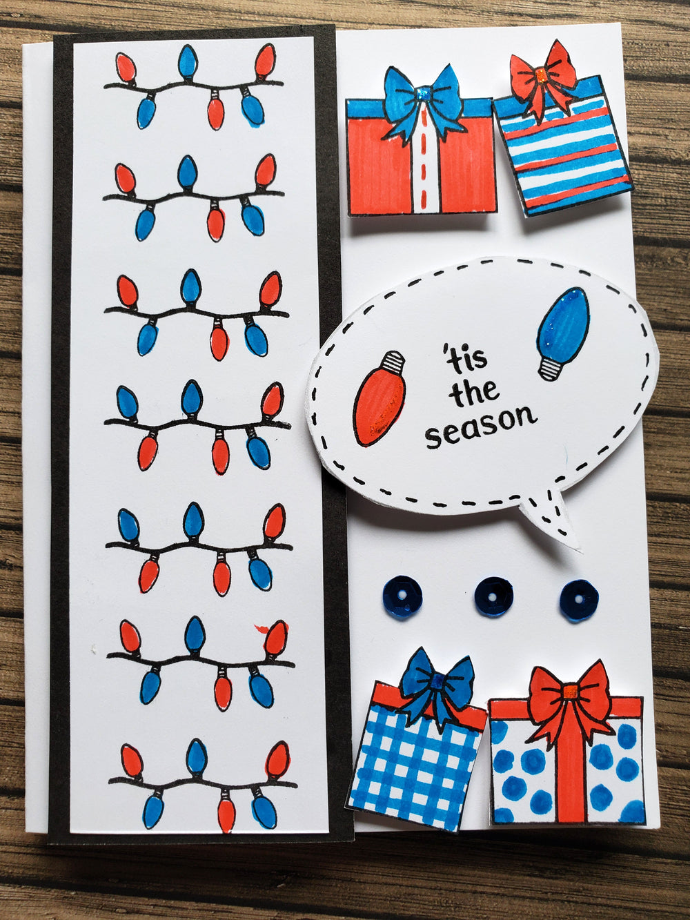 Season's Greetings Stamp Set