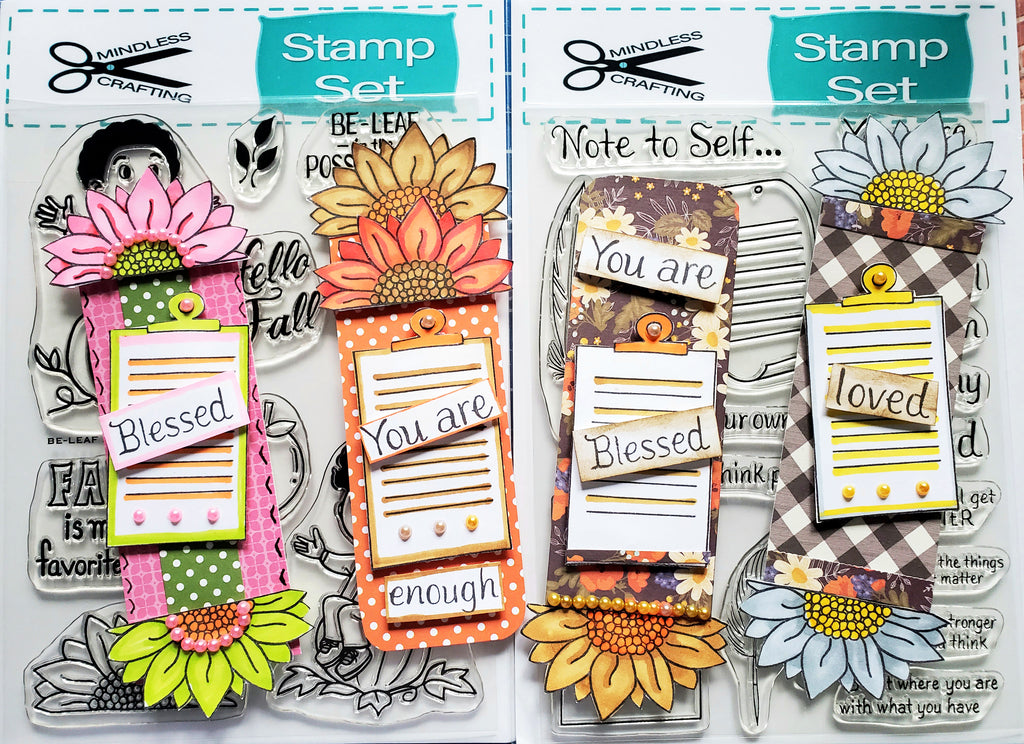 Note to Self Stamp Set 6x8