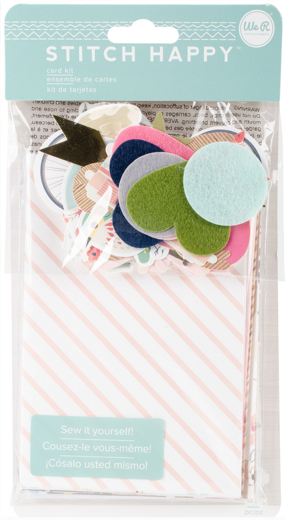 Stitch Happy Card Kit (61 pc) - We R Memory Keepers