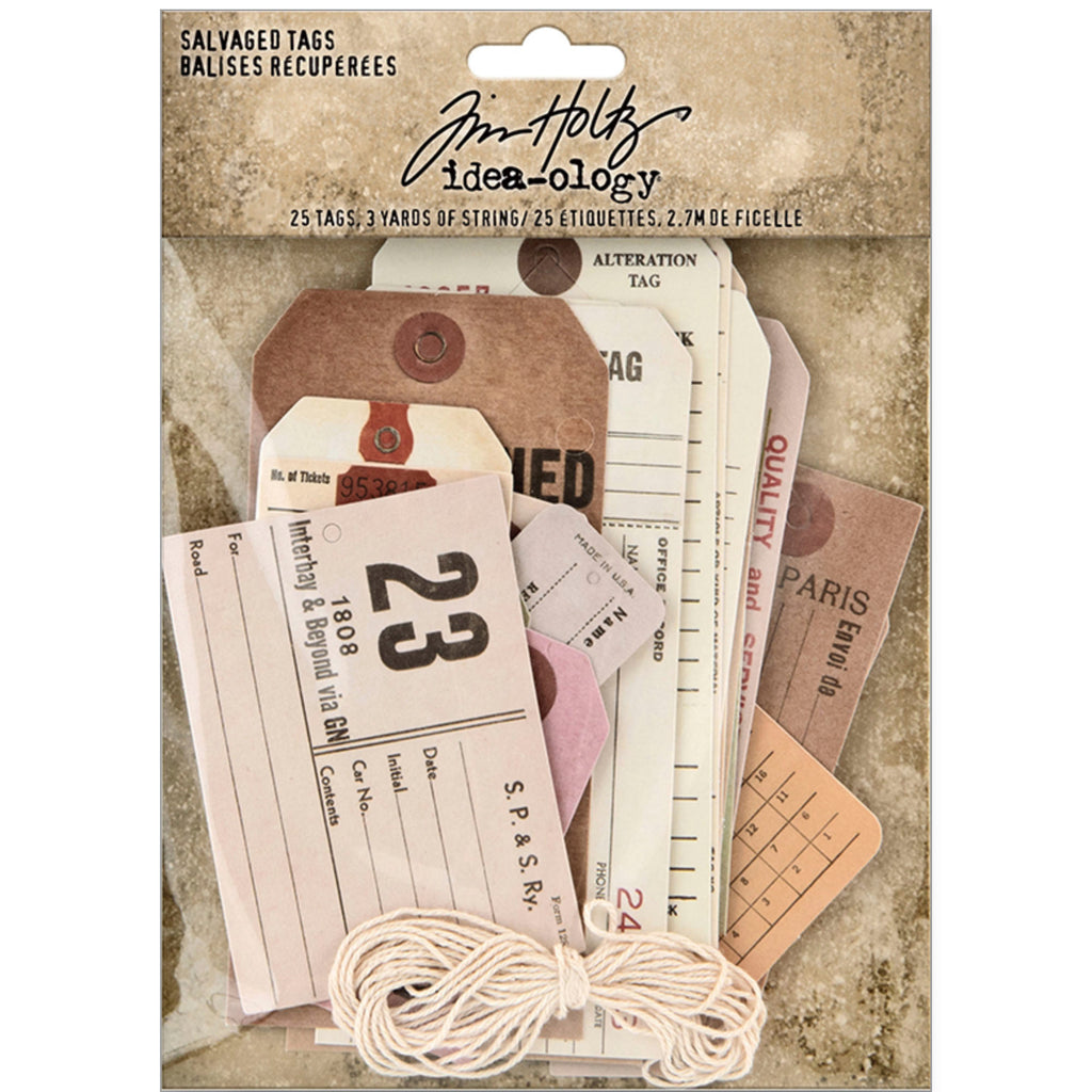 Tim Holtz SALVAGED TAGS