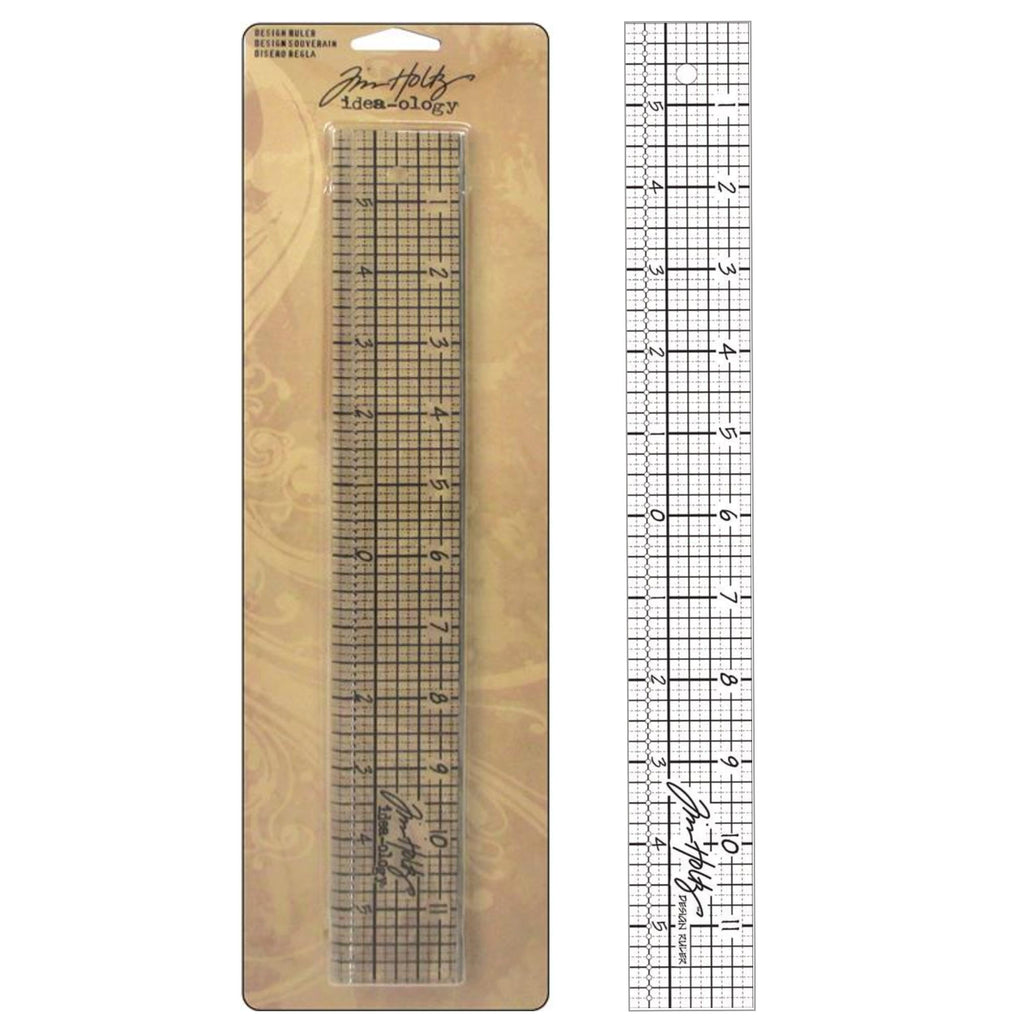 "Tim Holtz 12"" DESIGN RULER"