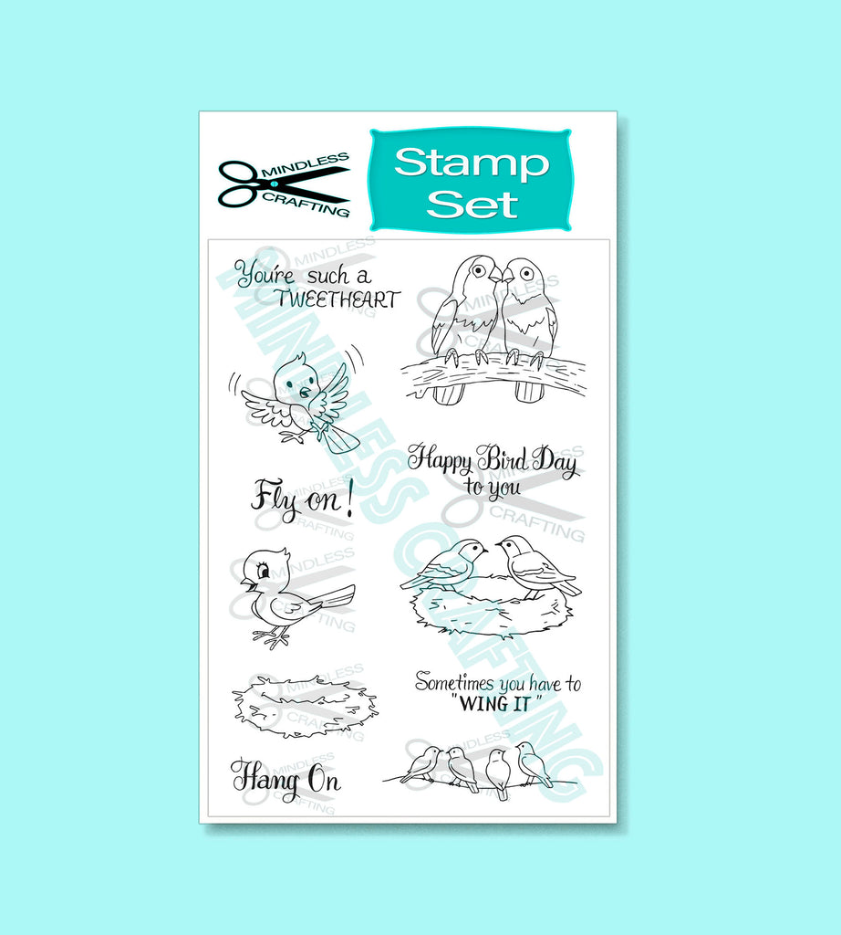 Tweetheart Stamp Set