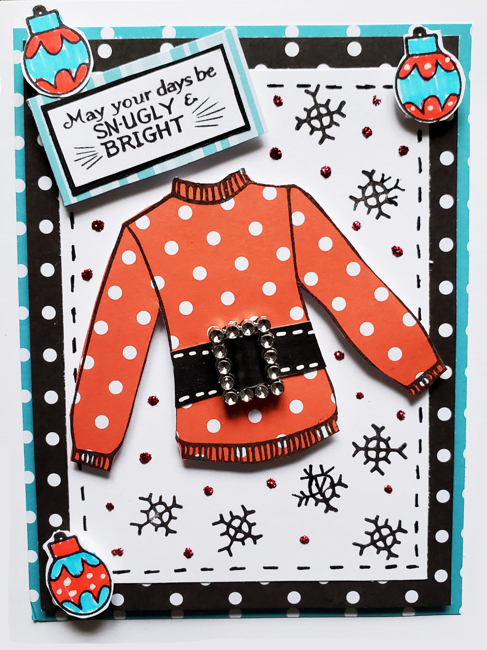 His Ugly Sweater Stamp Set