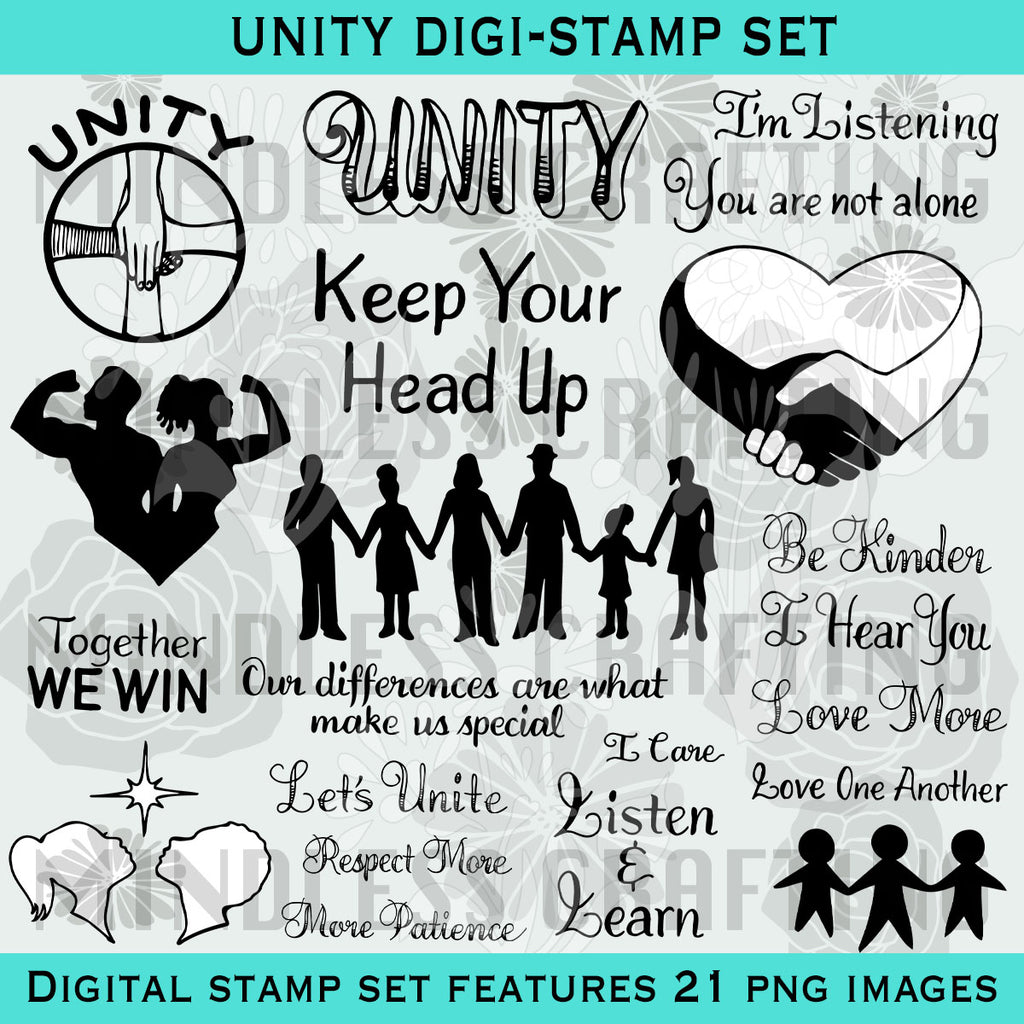 Unity Digital Stamp Set