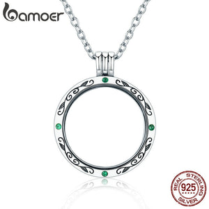 100% Authentic 925 Sterling Silver Mystery Power Box Petite Floating Locket Necklace for Women