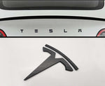Tesla Model X Logo Decal