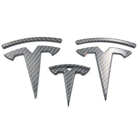Tesla Model Y Logo Decal