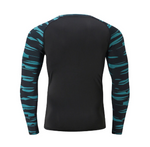 Mens Ivory Long Sleeve Compression Top