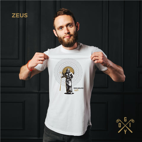 ZEUS Golfer God Short-Sleeve Unisex T-Shirt