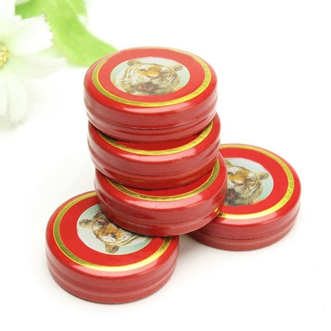 Tiger Balm Muscle Rub - 5 Pocket Size Tins