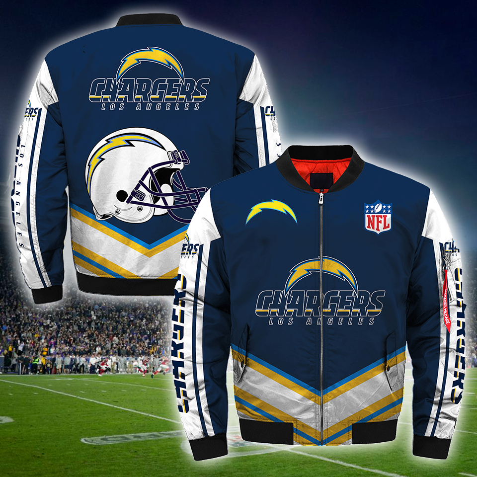 Los Angeles Chargers Bomber Jacket, NFL Los Angeles Chargers Apparel