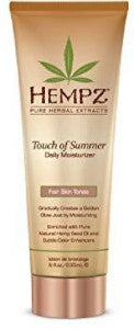 Hempz Touch of Summer Daily Moisturizer Fair Skin Tones