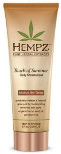 Hempz Touch of Summer Daily Moisurizer Medium Skin Tones