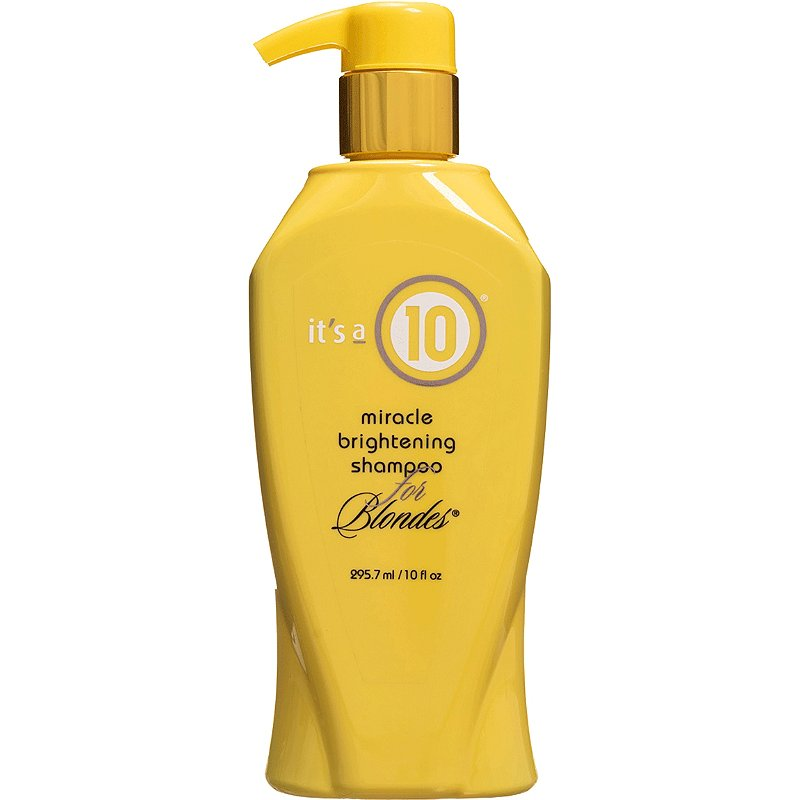 It's a 10 Miracle Brightening Shampoo for Blondes