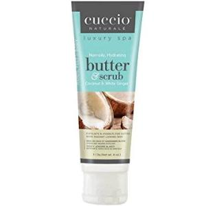 Cuccio Butter & Scrub, Coconut & White Ginger