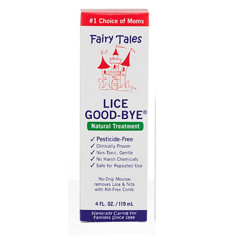 Fairy Tales Lice Good-Bye Natural Treatment