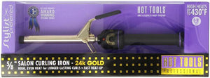 Hot Tools Curling Iron Spring Grip 5/8""